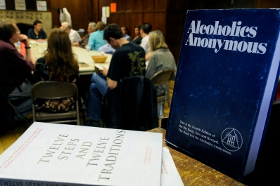 France - Alcoholic Anonymous celebrates its 75th year